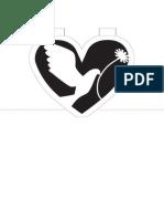 Peaceful Pigeon Pop Up Card