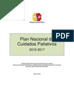 Plan Nacional Cuidados Paliativos Ecuador 2015-2017