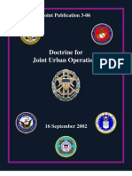 JP 3-06 Doctrine for Joint Urban Ops