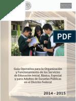Guia Operativa Para La Organización y El Funcionamiento