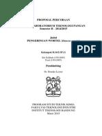 Proposal Pengeringan Wortel