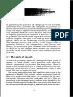 Grammatical Description - A preliminary overview