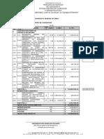 Presupuesto Oficial Muro