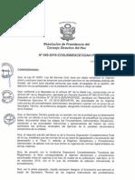 Resolución n045 2015 Cosusineace Cdah p