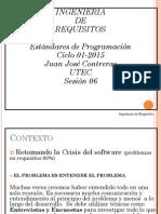 Estándares de programación - UTEC 2015