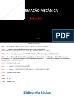 Metalurgia Física - Aula 2,3