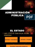 ADMINISTRACIÓN PÚBLICA.ppt