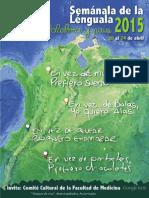 Programación Semánala de la Lénguala 2015