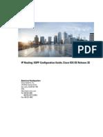 Cisco OSPF Iro Xe 3s Book