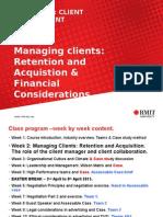 COMM2333 Week 2 Managing Clients 2015 Draft