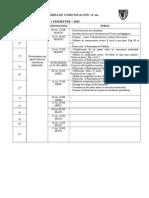 Plan de Sesión de Comunicación 5to_2015