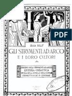 Billè - Gli strumenti ad arco e i loro cultori