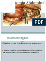 Histerectomia total abdominal