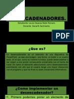 Diapositivas (desencadenadores)