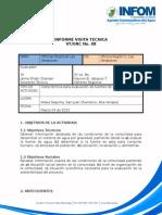 VPTS-OrC 07 Infome Tecnico, Saquiha, San Juan Chamelco a. V.
