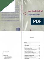 Lógica Del Delirio - Jean-Claude Maleval