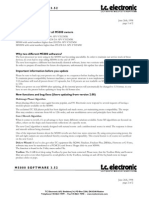t.c. electronic M5000 vers.3.52 Addendum