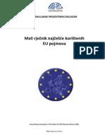 Najčešće Korišteni EU Pojmova