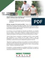 13-04-2015 Apuesta Nerio Torres Arcila por una recolección de basura sin costo y eficiente para toda Mérida