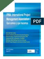 IPMA presentation  for construction or work plan