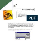 ProLINK Conversions