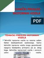 Tehnicki pregled motornih vozila