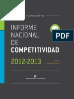 Resumen-ejecutivo Competitividad 2012 -2013