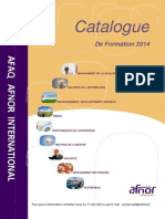 Catalogue Formations 2014 Tunisie Aai
