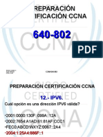 PREPARACIÓN CERTIFICACIÓN CCNA (IPV6) 12