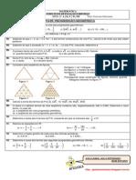 Lista 05 - Segundos Anos - Progressão Geométrica Com Gabarito