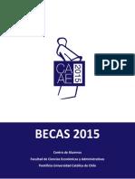 Becas Caae 2015