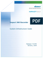 Impact360 Recorder System Infrastructure Guide