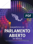Diagnóstico de Parlamento Abierto en México