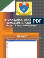 Elaborando Productos Sencillos Utilizando Paint y Ms