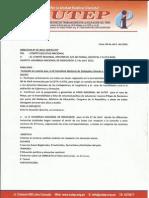 IV Asamblea nacional de delegados SUTEP 2015