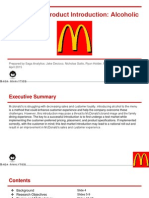McDonald's Research Report