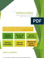 Hernias Raras