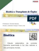 Bioetica e Transplante de Órgãos