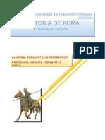 Etapas de La Historia Romana