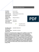 clinical practice supervisor observations 2docx