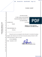 IO Group, Inc. v. Veoh Networks, Inc. - Document No. 108