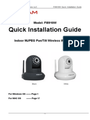 Foscam_Quick Installation Guide | Port (Computer Networking