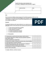 spring2015 evaluation form