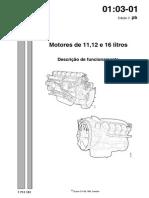 Motores Scania de 11, 12 e 16 Litros - Descrição de Funcionamento