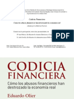 Codicia Financiera Capitulo 1