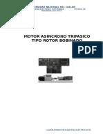 Motor Asíncrono - Unac