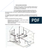 3.5 Instalaciones Sanitarias - Electricas
