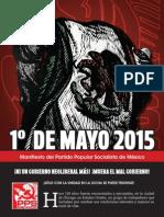 Manifiesto del Primero de Mayo 2015