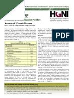 Anemia Chronic Disease