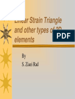10-Linear Strain Triangle and Other Types of 2d Elements